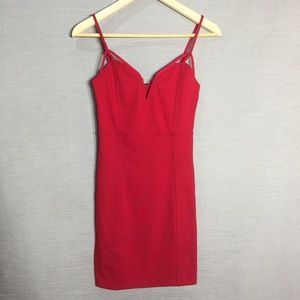 Forever 21 bodycon little red cami dress